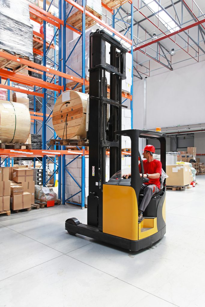 Narrow Aisle Forklift Safety Training